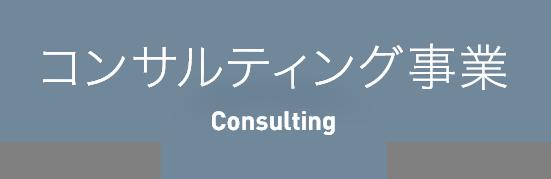 コンサルティング事業 コンサルティング事業